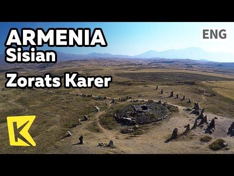 【K】Armenia Travel-Sisian[아르메니아 여행-시시안]아르메니아 스톤헨지/Zorats Karer/Stonehenge/Stone