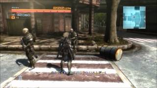 Metal Gear Rising Revengeance. Drum Can can not find bug. Soldier c...