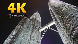 """#078 """"Kuala Lumpur, Malaysia"""" in 4K (クアラルンプール/マレーシア)世界一周33カ国目"""