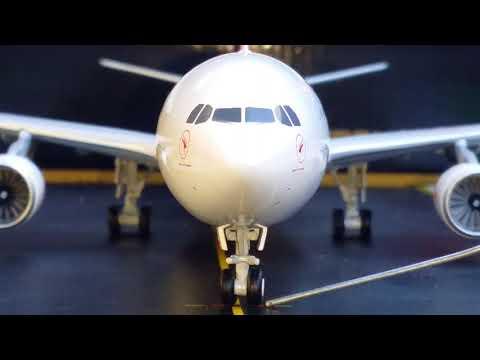 Gemini 200 Qantas A330-300(New Silver Roo Livery)Review