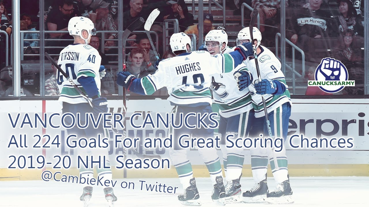 Download Vancouver Canucks - All 224 Goals For + 600 Scoring Chances (2019-20 NHL) - A CambieKev Presentation
