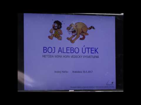 Audio záznam Wim Hof Ice Party Bratislava 14.6.2017 dechové cvičení