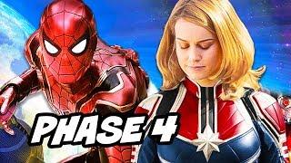 Avengers Infinity War Marvel Phase 4 New Character Teaser Explained