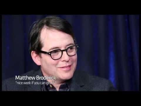 """Show People With Paul Wontorek: Matthew Broderick on """"Nice Work,"""" Nathan Lane & More"""