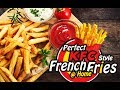Handmade KFC Style French Fries at Home   Restaurant Style Making   Fuze HD