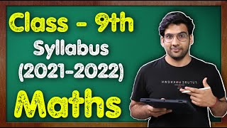 Class 9th Maths Syllabus (2021-22) CBSE || Chapterwise || #MKR