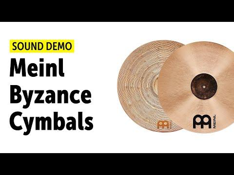 Meinl Byzance Polyphonic Ride, Monophonic Ride, Vintage China, Jazz Thin HiHat Sound Demo