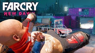 MELEE ONLY STEALTH OUTPOST CHALLENGE in Far Cry New Dawn