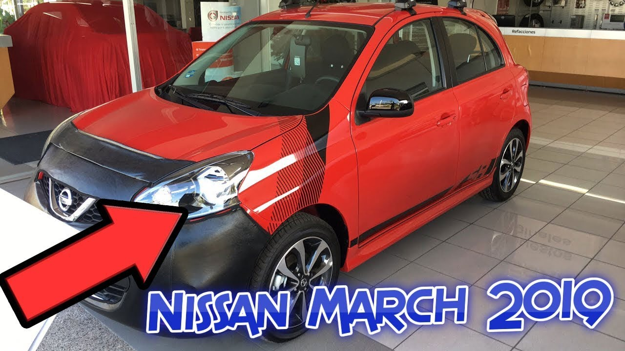 Nissan March 2019 179 900 Youtube