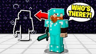invisible raiding unclaimed base while they are online! (Minecraft Factions)