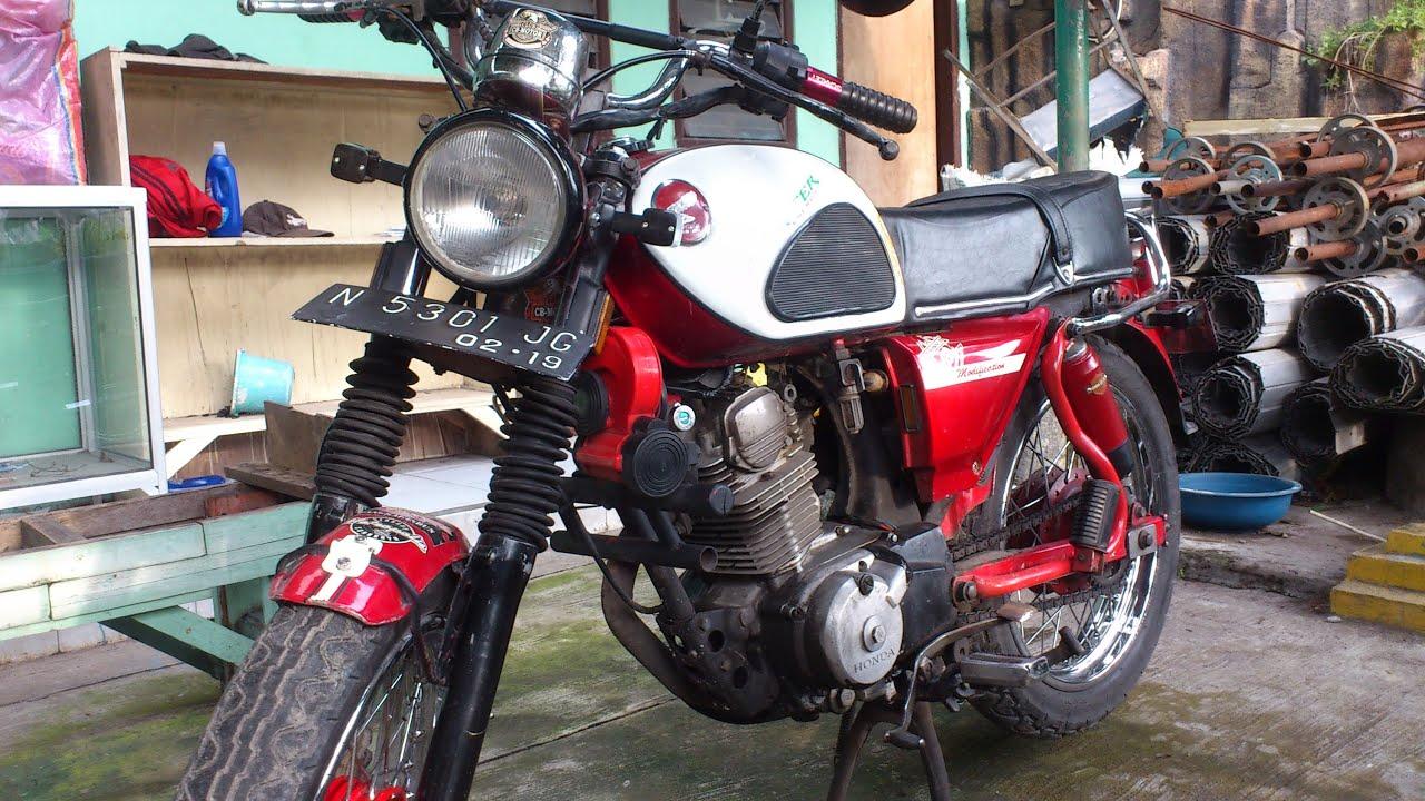 Koleksi Ide Modifikasi Motor Trail Honda Cb Terlengkap Velgy Motor