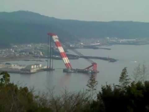 世界最大のクレーン  World's largest Floating crane