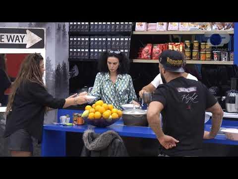 """Nuk e kam problem të ha vetëm"""", Fifi dhe Iliri debatojnë për ushqimin - Big Brother Albania"""