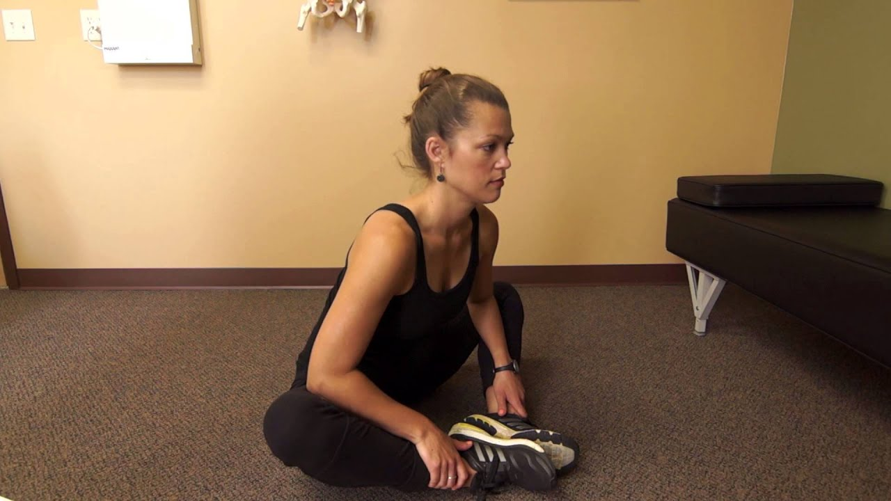 Watch How to Do the Butterfly Inner Thigh Stretch video