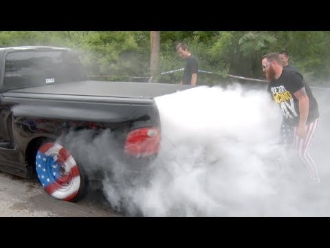 AMERICA Burnout - Happy 4th of July!!!