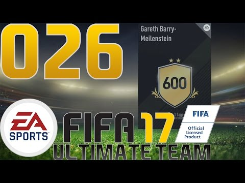 FIFA 17 ULTIMATE TEAM #026 - SBC: Gareth Barry - Meilenstein - Let's Play - [60FPS/Ger/HD]