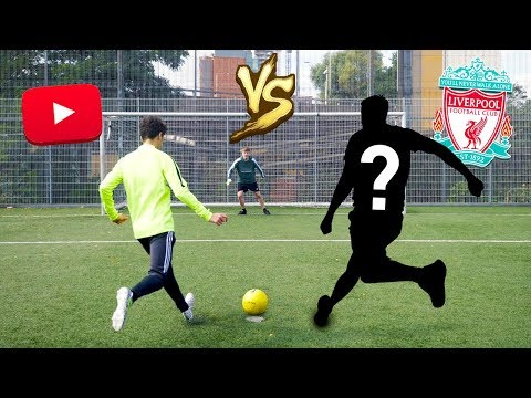 PENALTY SHOOTOUT CHALLENGE VS LIVERPOOL FOOTBALL PLAYER!