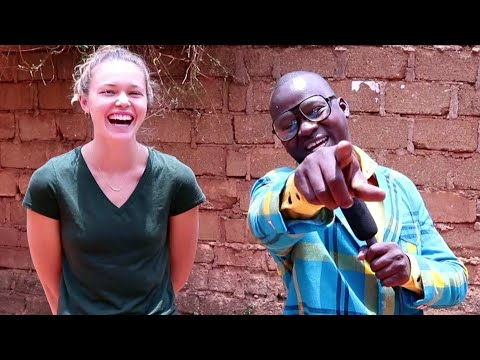 Teacher Mpamire on the Street. (Episode 6) What's the capital city of Africa?