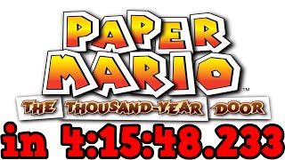 (TAS) Paper Mario: The Thousand-Year Door any% in 4:15:48.233 by Malleo (w/ Overlay)