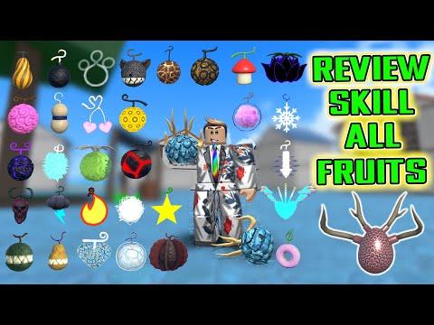 King Legacy : REVIEW SKILL ALL FRUITS (คลิปรวม)
