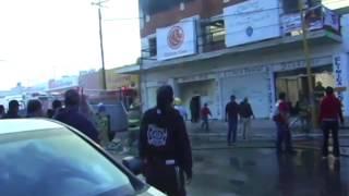 INCENDIO DEL ANTIGUO EDIFICIO DEL CINE PLAZA DE SAN PEDRO COAHUILA