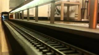 Модель вагонов метро