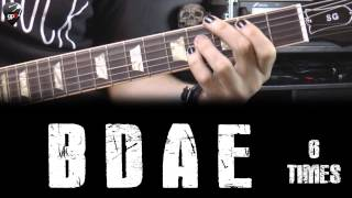 Learn and play Rock or Bust from AC/DC - FREE BACKING TRACK