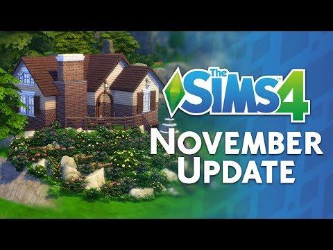 The Sims 4 November Update: Countdown + Walkthrough