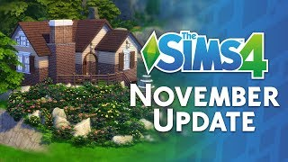 The Sims 4 November Update: Countdown + Walkthrough