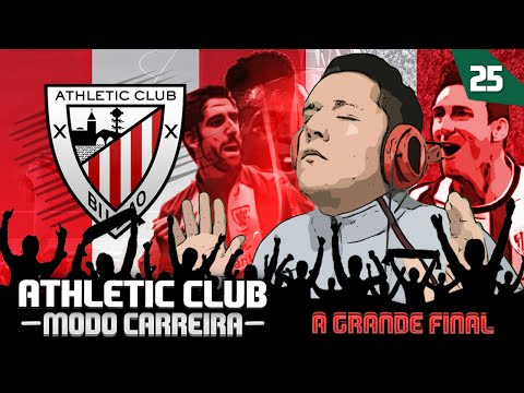FIFA 16 MODO CARREIRA| ATHLETIC CLUB BILBAO| FINALE| FINAL DA LIGA EUROPA!!