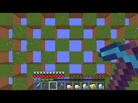 Minecraft UHC But It's A CHECKERBOARD...