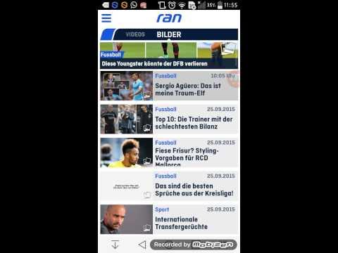 Die beste Sport Aktuell App