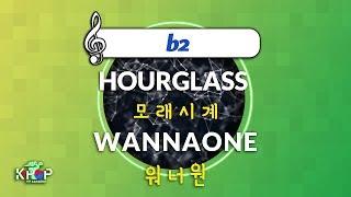 [KPOP MR 노래방] 모래시계 - 워너원 (b2 Ver.)ㆍHOURGLASS - WANNAONE