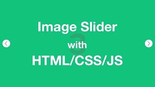 How to Create a Image Slider With HTML CSS and jQuery