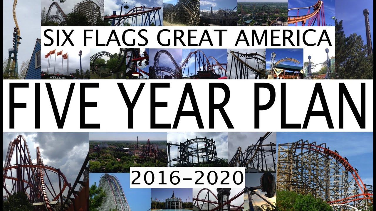 ... Great America 5 Year Plan 2016 - 2020 Future Attractions - YouTube