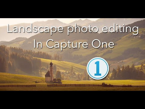 Landscape photo editing in Capture One Tutorial: TOP TIPS! thumbnail