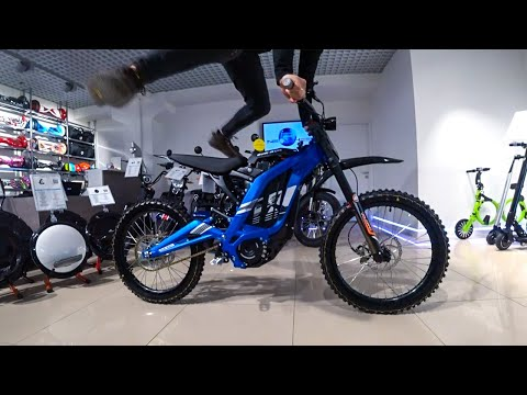 Sur-Ron X Light Bee. Видео обзор Electric Dirt Bike!