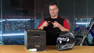 Gambar cover Klim Krios Pro Arsenal Dual Sport Helmet with Koroyd - 4 Helmets in 1Just 3 lbs