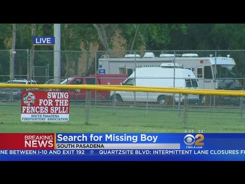 New Search Launched At South Pasadena Park For Missing Boy