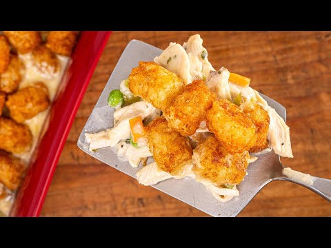How To Make Chicken Tot Pie