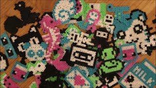 DIY: Ich habe neue Mini Bügelperlen Motive gemacht