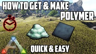 How to Make & Get Polymer | 2 Ways | Ark: Survival Evolved