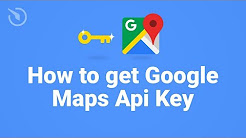 How to get Google Maps Api Key in 1 minute (2018)