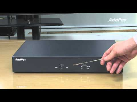 IP VoIP Voice Broadcasting System AP3120 | AddPac