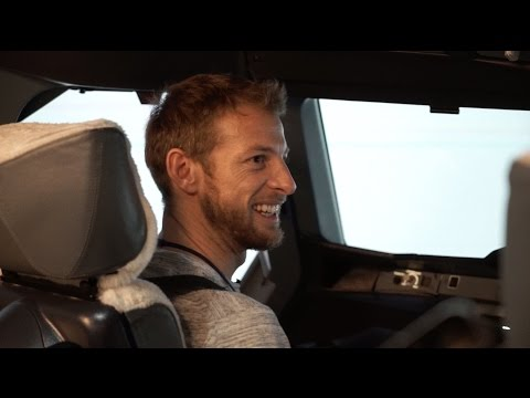 Formula 1 ace Jenson Button test drives new career as British Airways pilot