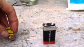 How to make a electrolysis system for small items