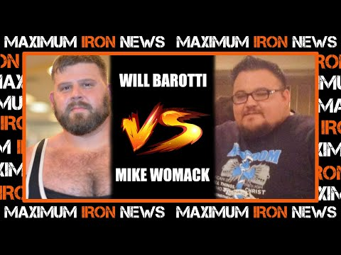 World Record Equipped Bench?   Mike Womack 'Bench Daddy' vs Will Barotti