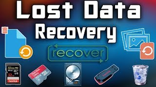 How To Recover Deleted Files For Free | Memory Card Recovery | 2017