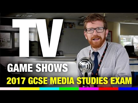 TV Game shows - 2017 GCSE Media Studies Revision