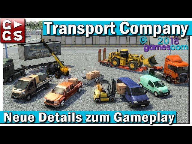 Transport Company Simulator - Neue Details! | GamesCom 2018